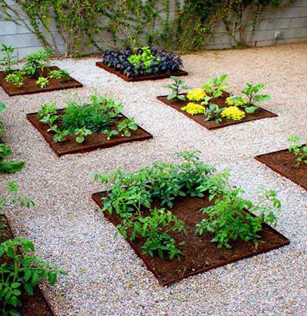 22 diy gardening projects that you can actually make for Veggie patch design