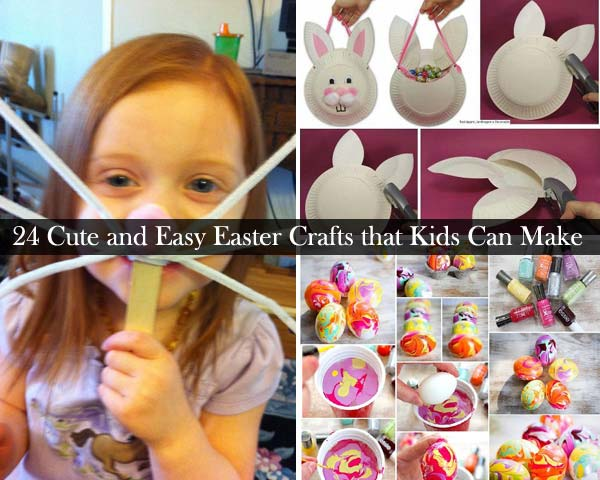 Easy Easter Crafts for Kids to Make at Home