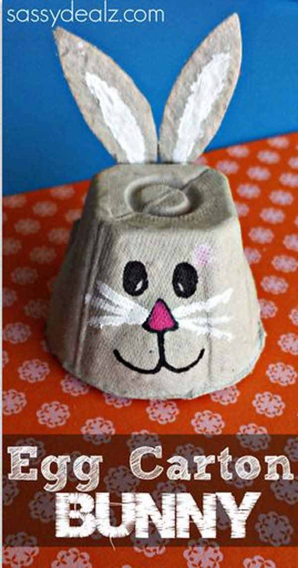 24 cute and easy easter crafts kids can make amazing diy easter crafts for kids 13 negle Gallery