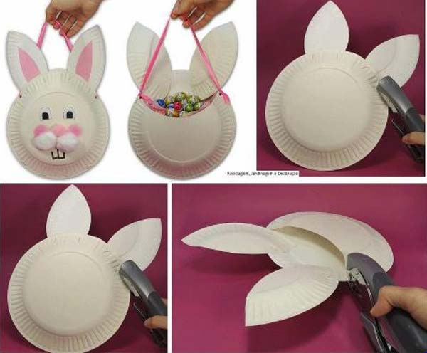 24 Cute And Easy Easter Crafts Kids Can Make Amazing DIY Interior Ho