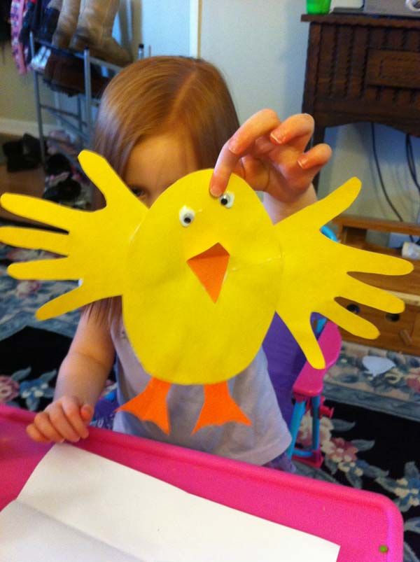 24 Cute and Easy Easter Crafts Kids Can Make - Amazing DIY ...