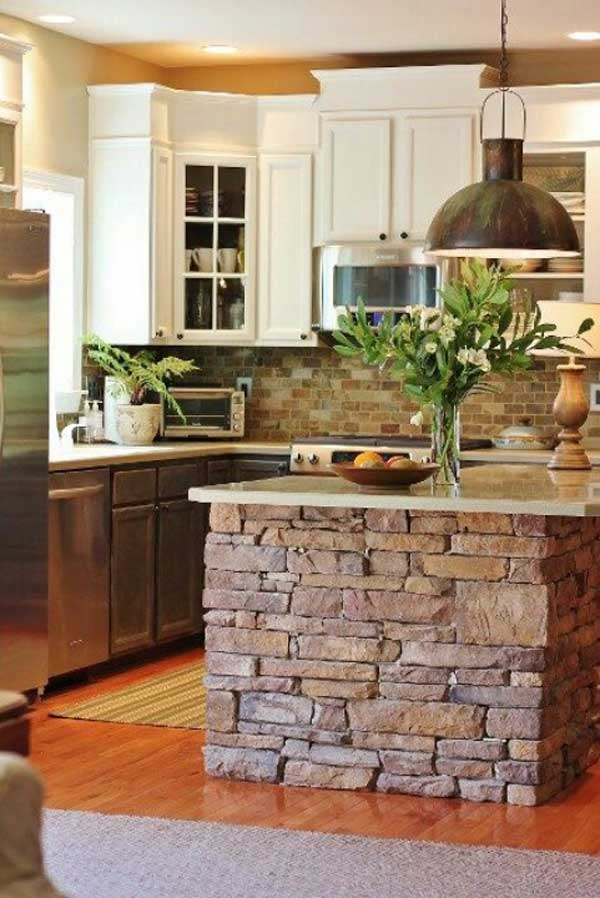Simple Kitchen With Island 32 simple rustic homemade kitchen islands