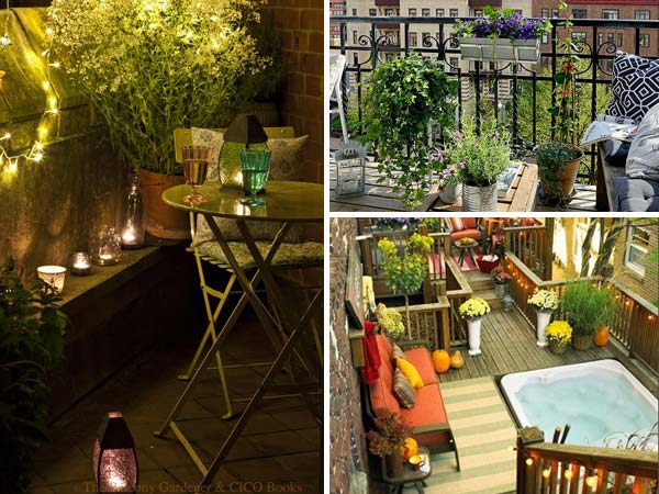 30 inspiring small balcony garden ideas - Tiny Patio Garden Ideas