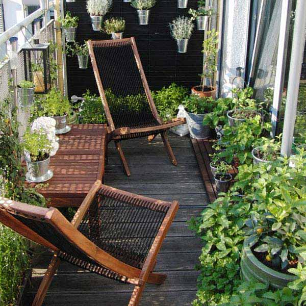 small balcony garden ideas 13 - Patio Garden Ideas