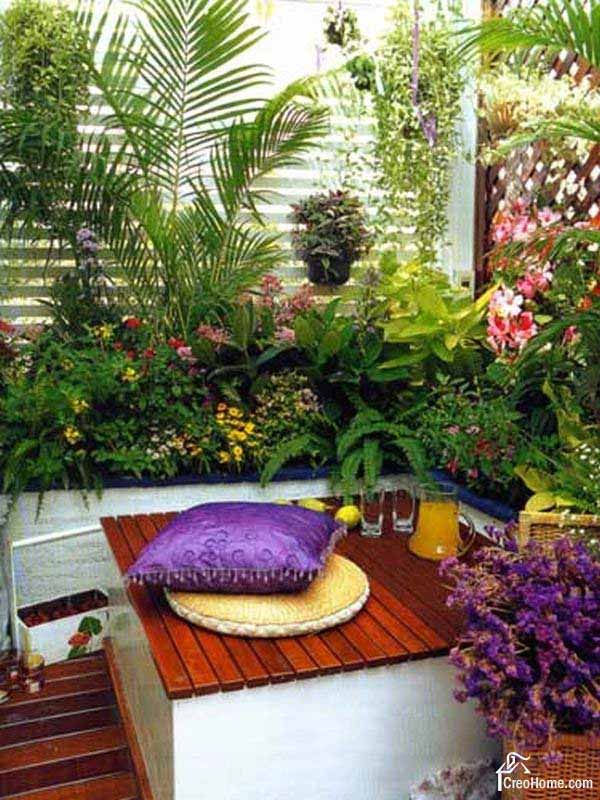 small balcony garden ideas 21 - Garden Examples Photos