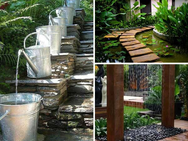 35 impressive backyard ponds and water gardens amazing for Diy backyard pond
