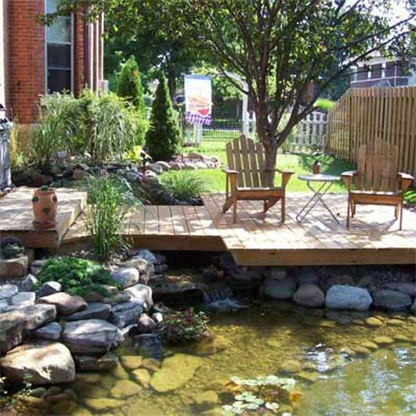 Exceptionnel Backyard Pond Water Garden 20 ...