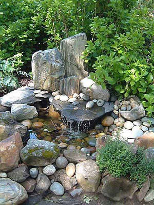 35 Impressive Backyard Ponds and Water Gardens - Amazing ... on Small Backyard Water Features id=48825