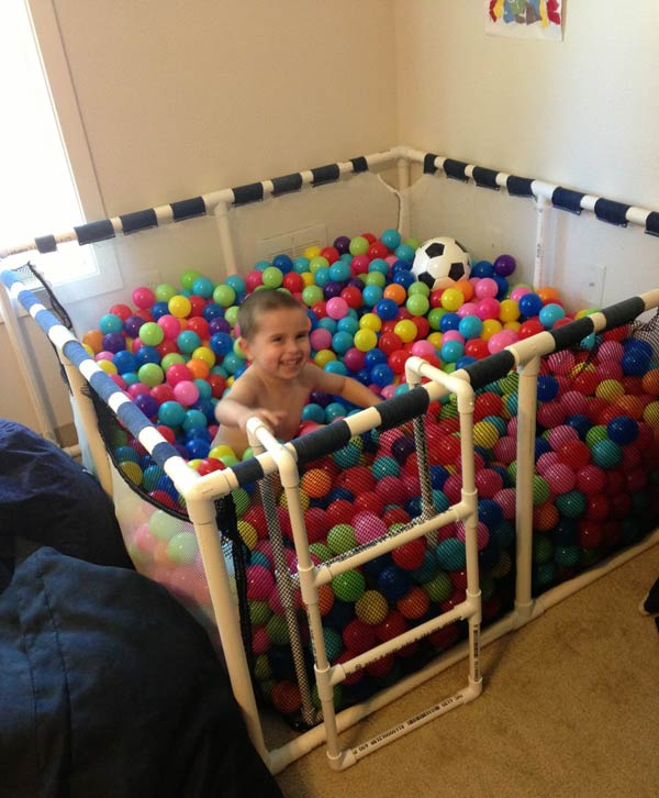 Fun Indoor Ball Pit for Toddlers