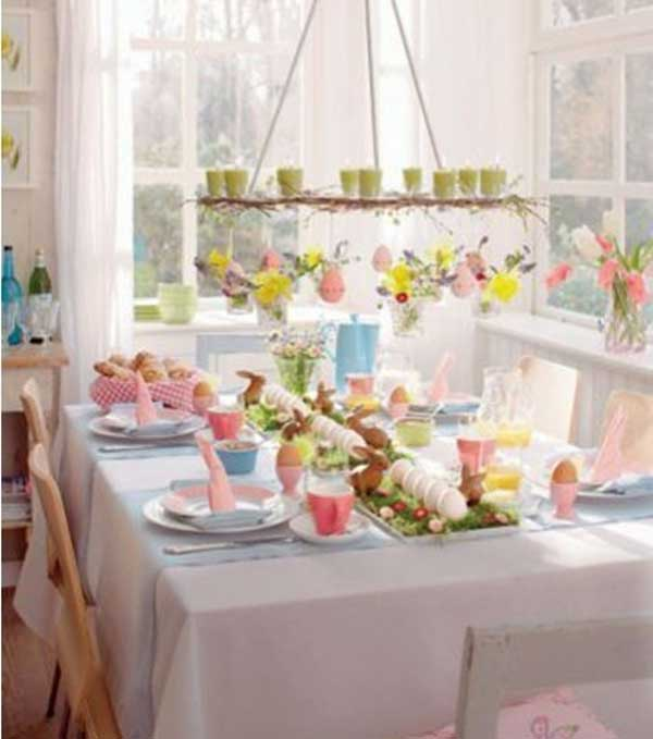 Simple Diy Spring Decor Ideas: 30 Creative Easy DIY Tablescapes Ideas For Easter