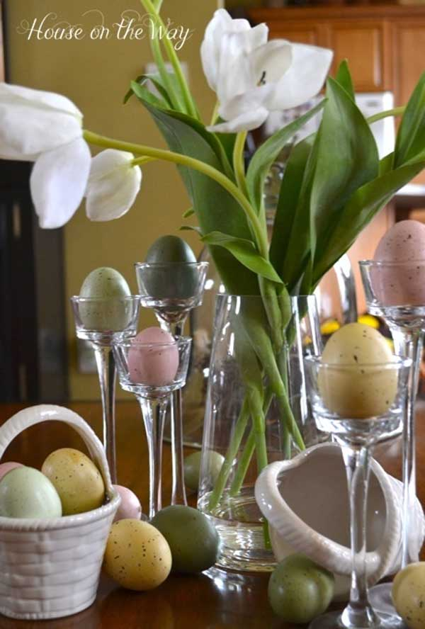 Creative easy diy tablescapes ideas for easter