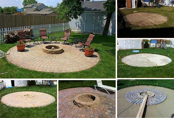 38 Easy And Low Cost Diy Fire Pit Ideas Woohome