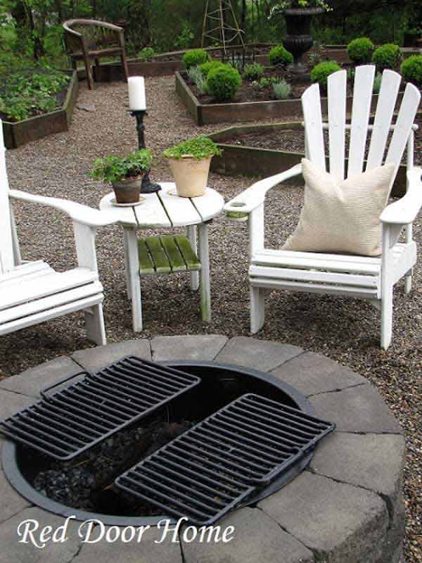 Easy Diy Fire Pit With Grill Of 38 Easy And Fun Diy Fire Pit Ideas Amazing Diy Interior