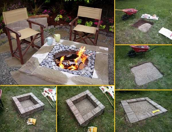 38 easy and fun diy fire pit ideas amazing diy interior home design diy fire pits 3 solutioingenieria Gallery