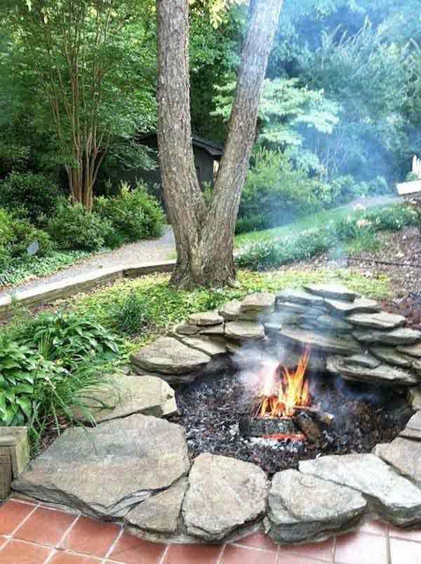 DIY Fire Pits 30