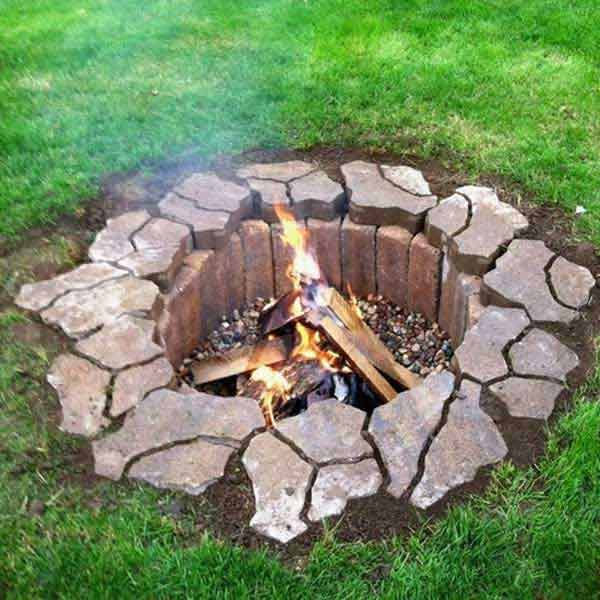 In the Ground Fire Pit