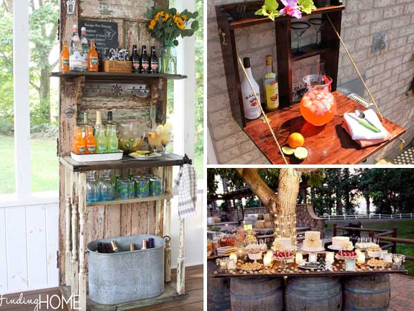 26 Creative And Low Budget DIY Outdoor Bar Ideas Part 96