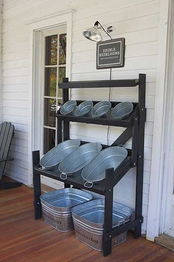 inexpensive garage ceiling ideas - 26 Creative and Low Bud DIY Outdoor Bar Ideas Amazing