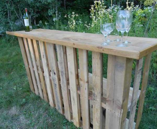 Diy Outdoor Bar Station 19