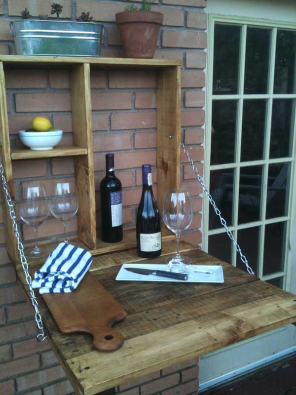 diy outdoor bar station 9 - Outdoor Patio Bar Ideas