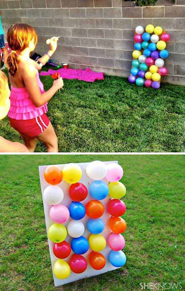 top 34 fun diy backyard games and activities amazing diy. Black Bedroom Furniture Sets. Home Design Ideas