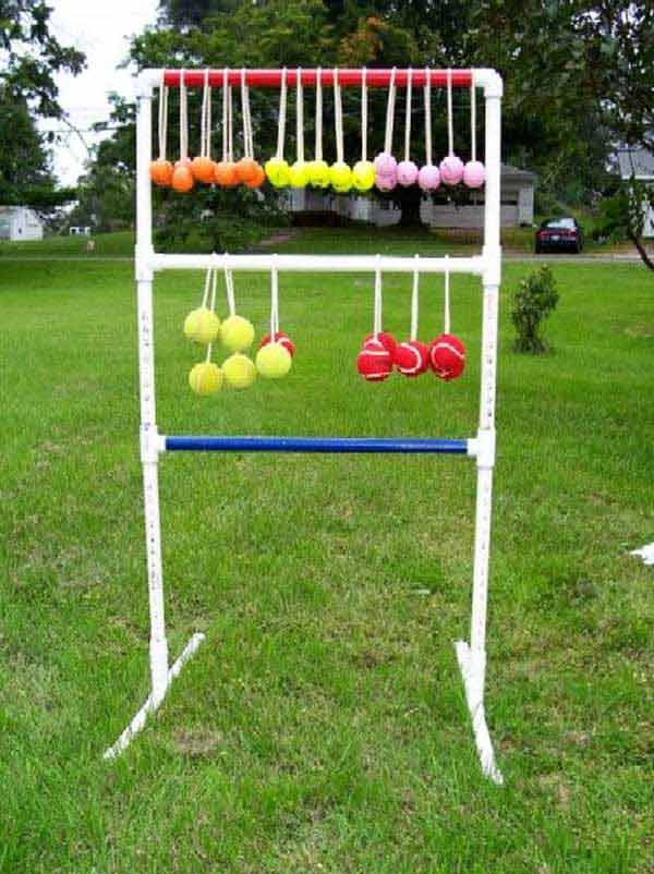 Ladder Toss, Backyard Games