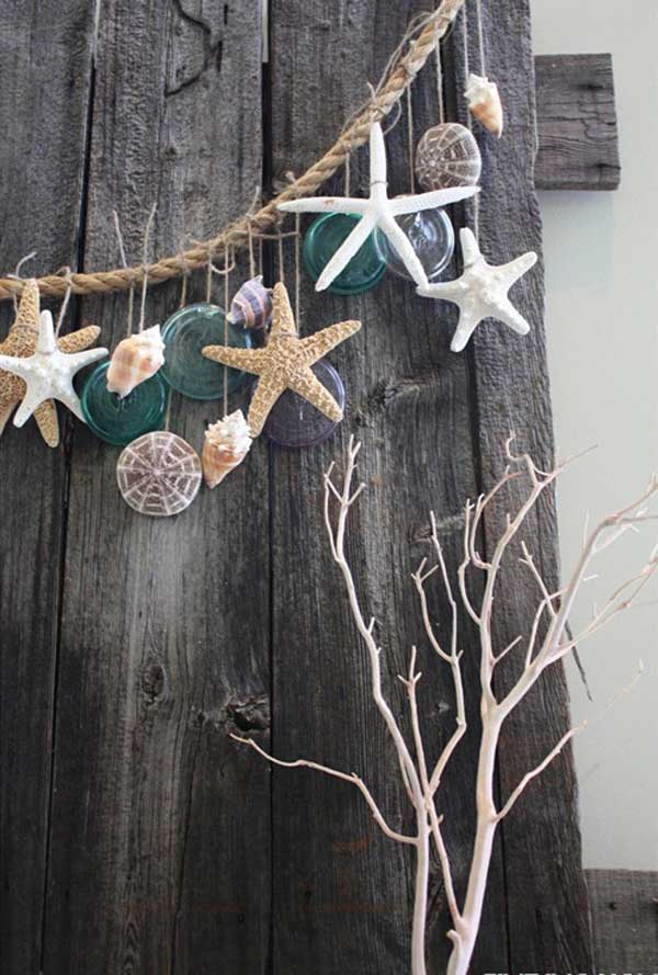 beach diy decor ideas 1 - Beach Decorations