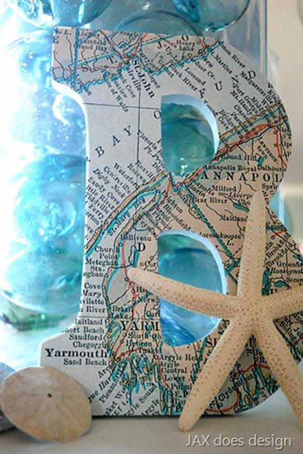 beach diy decor ideas 15 - Beach Decorations