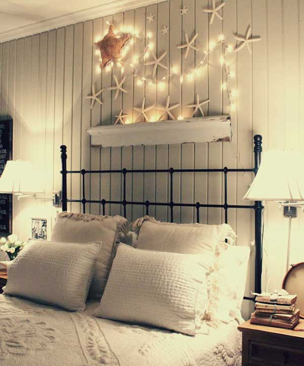 36 breezy beach inspired diy home decorating ideas for Beach bedroom ideas pictures