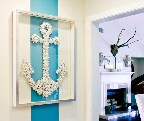 36 Breezy Beach Inspired DIY Home Decorating Ideas Beach Diy Decor Ideas  26. Do It