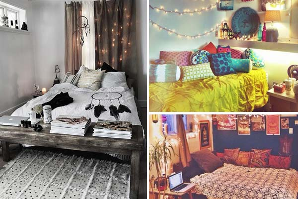 35 Charming Boho Chic Bedroom Decorating Ideas furthermore Small Scandinavian Apartment together with Ideas Para Decorar El Bano En Gris together with 20 Magical Diy Bed Canopy Ideas Will Make You Sleep Romantic further Cozy Kitchen. on bohemian apartment decor