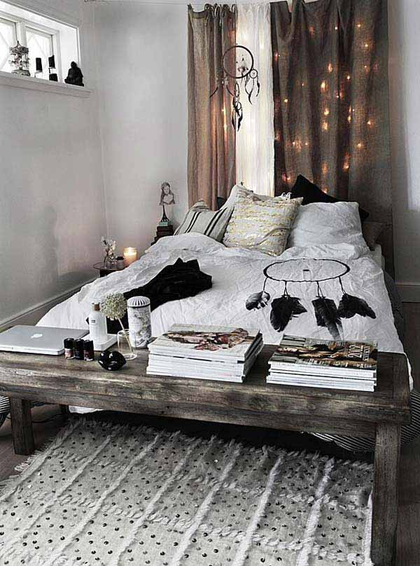 35 charming boho chic bedroom decorating ideas amazing for Bedroom ideas boho