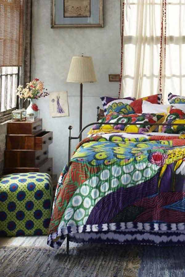 Bohemian Chic Bedroom bohemian style bedroom decor. charming-boho-bedroom-ideas-12 35