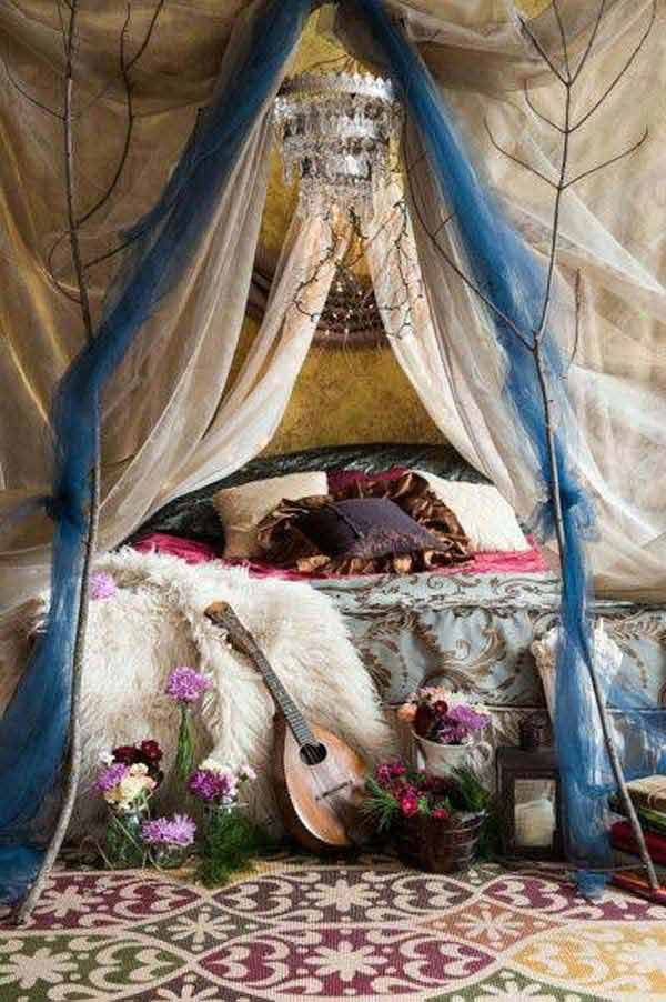 charming boho bedroom ideas 14 - Hippie Bedroom Ideas 2