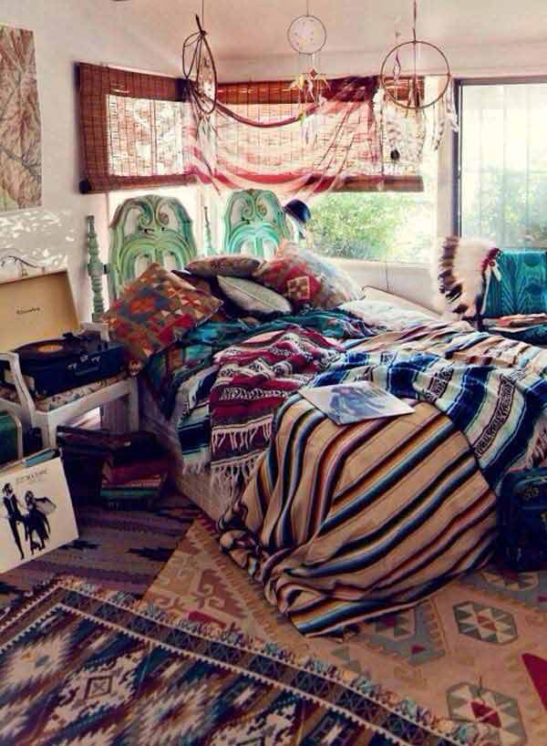 Charming Boho Bedroom Ideas 19