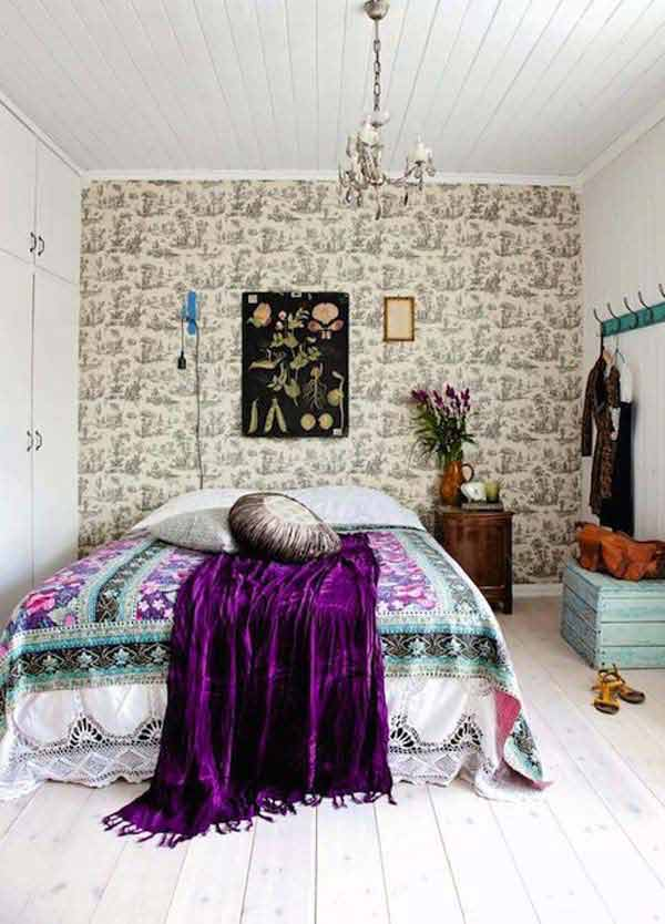Charming Boho Bedroom Ideas 24
