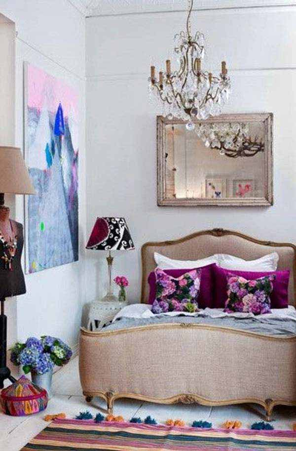 Pics Photos - Boho Chic Bedroom Eclectic Bedroom