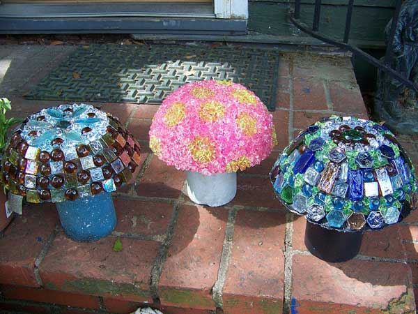 mosaic garden project 2 - Mosaic Design Ideas