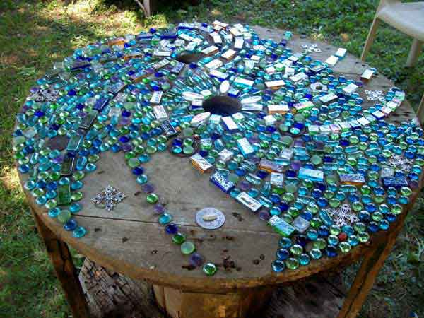 Beautiful Mosaic Garden Project 21