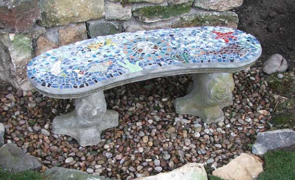 Garden Furniture Mosaic 28 stunning mosaic projects for your garden