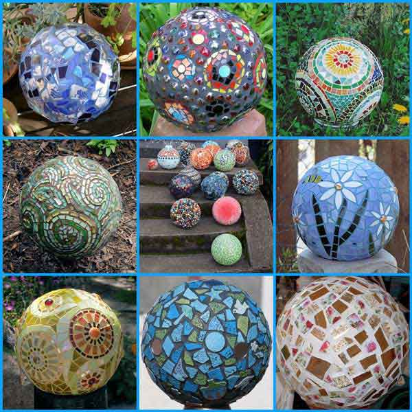 28 stunning mosaic projects for your garden amazing diy interior mosaic garden project 28 sciox Image collections