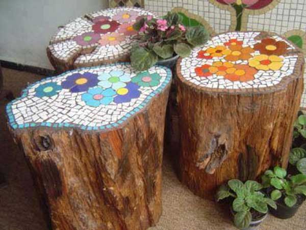 mosaic garden project 8 - Mosaic Design Ideas