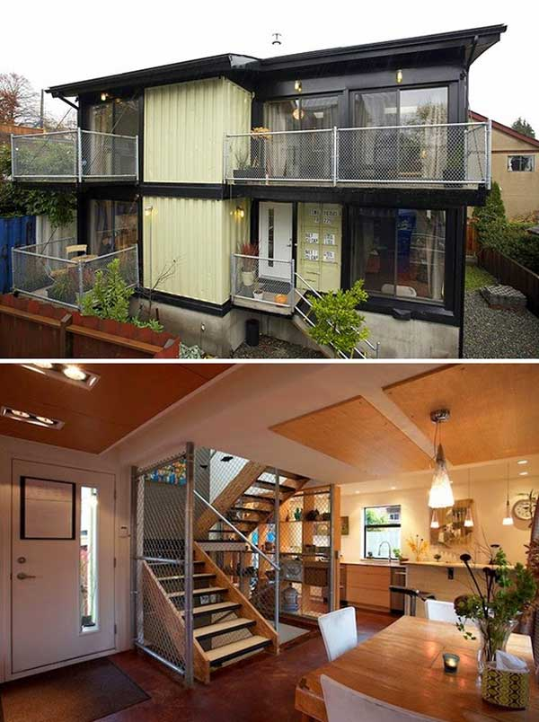 shipping-container-house-17 & 24 Epic Shipping Container Houses No Lack of Luxury - Amazing DIY ...