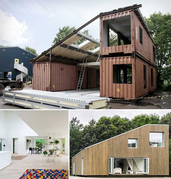 24 epic shipping container houses no lack of luxury for Cheapest 2 story house to build
