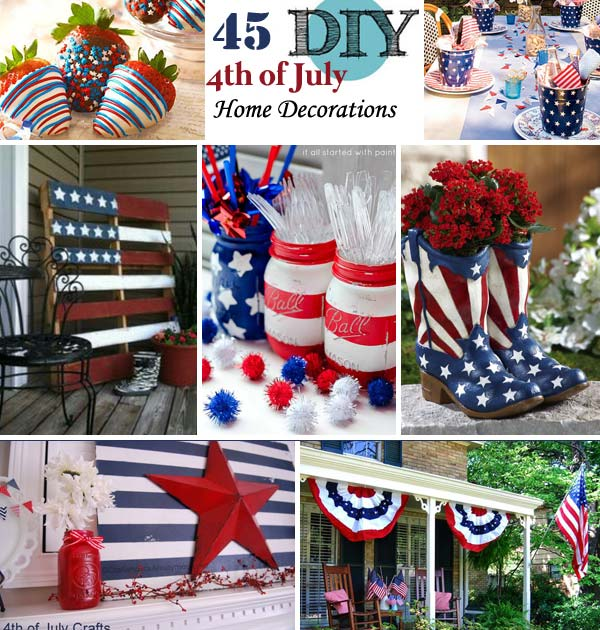45 decorations ideas bringing the 4th of july spirit into for 4th of july decorating ideas for outside