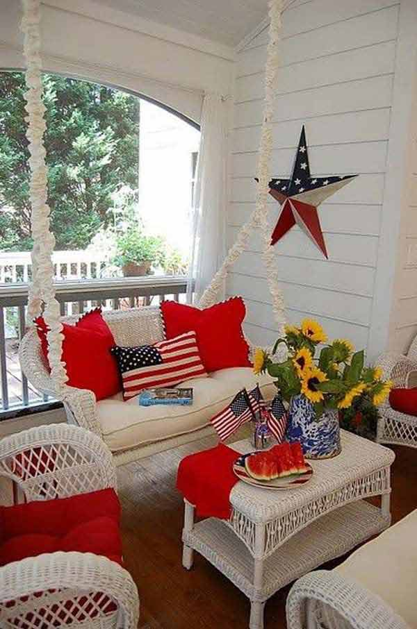 45 Decorations Ideas Bringing The 4th Of July Spirit Into Your Home Amazing Diy Interior Home Design