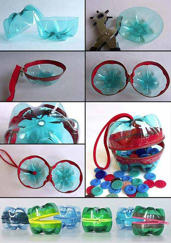 plastic bottle purse