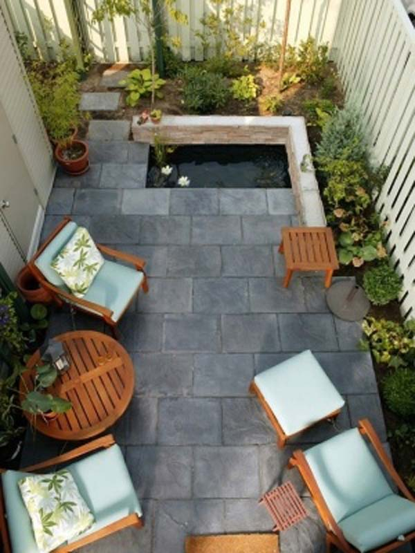 Small Yard Landscaping Enchanting 23 Small Backyard Ideas How To Make Them Look Spacious And Cozy . Inspiration