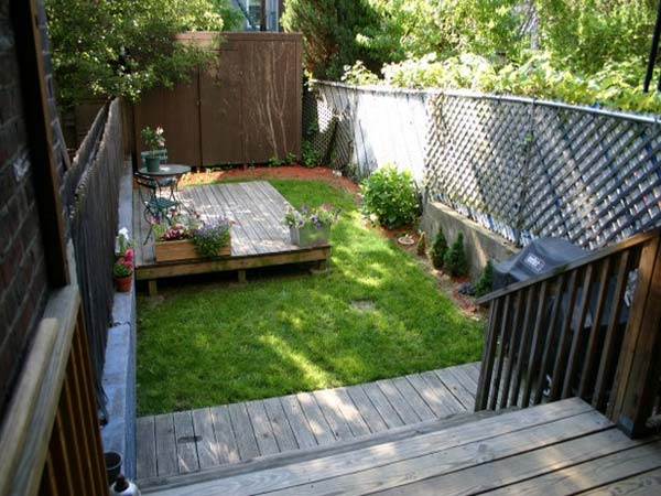 small backyard ideas how to make them look spacious and cozy, Natural flower
