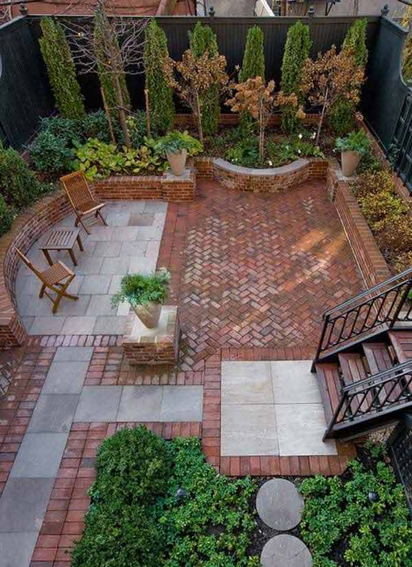 Design Backyard Landscape landscape design backyard for goodly top best backyard landscaping ideas on pinterest decor Small Backyard Landscaping Ideas 14